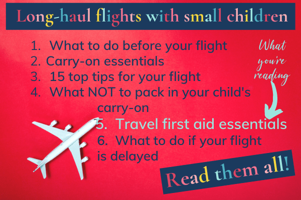 Long-haul flights with small children: Read them all! Travel first aid essentials and 5 other posts