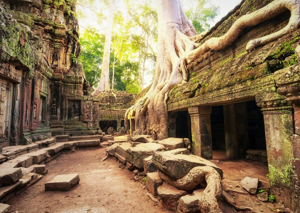 Inside Angkor Wat: One of the many things on my bucket list