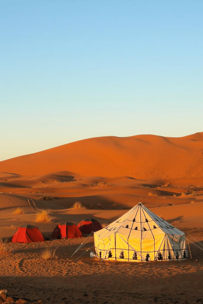 Bedouin tent in Oman