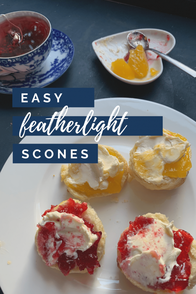 Easy featherlight scones - an almost foolproof family recipe to celebrate our trip to London - ultimate London afternoon tea recipe