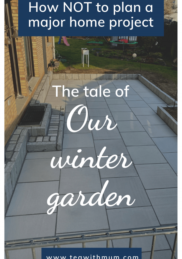 Our winter garden: A tale of hastiness, outrage, lament and the coronavirus, AKA how not to plan a major house project. Image of finished patio