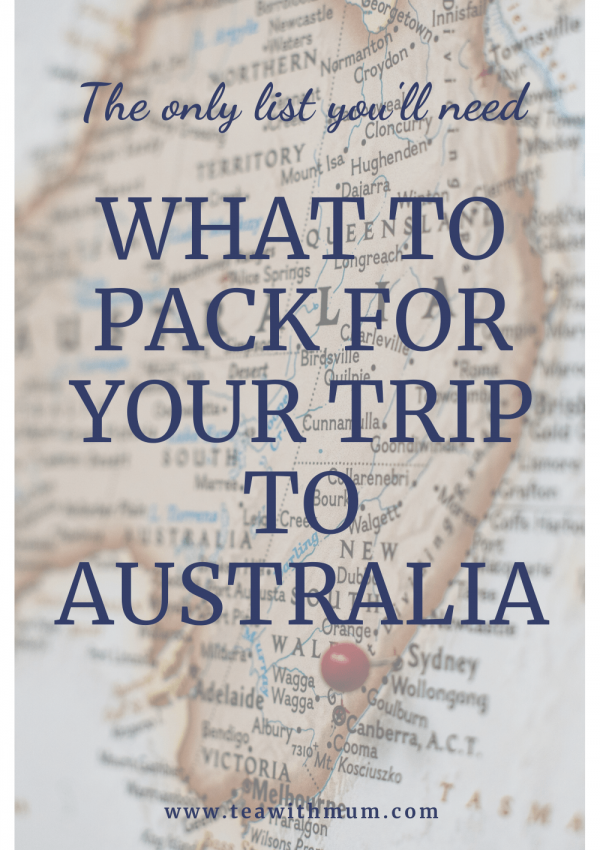 What to pack for your trip to Australia