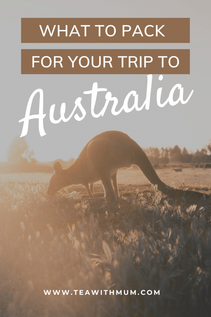 What to pack for your trip to Australia: 11 thinks to pack and some questions to consider when packing for your trip to Australia