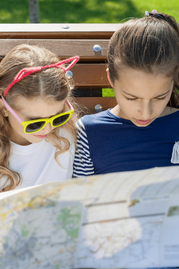 Grab a map and get planning - let your kids help! Top tips for a road trip with kids