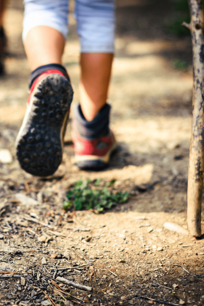 Child hiking, a great way to prepare your kids for your next trip