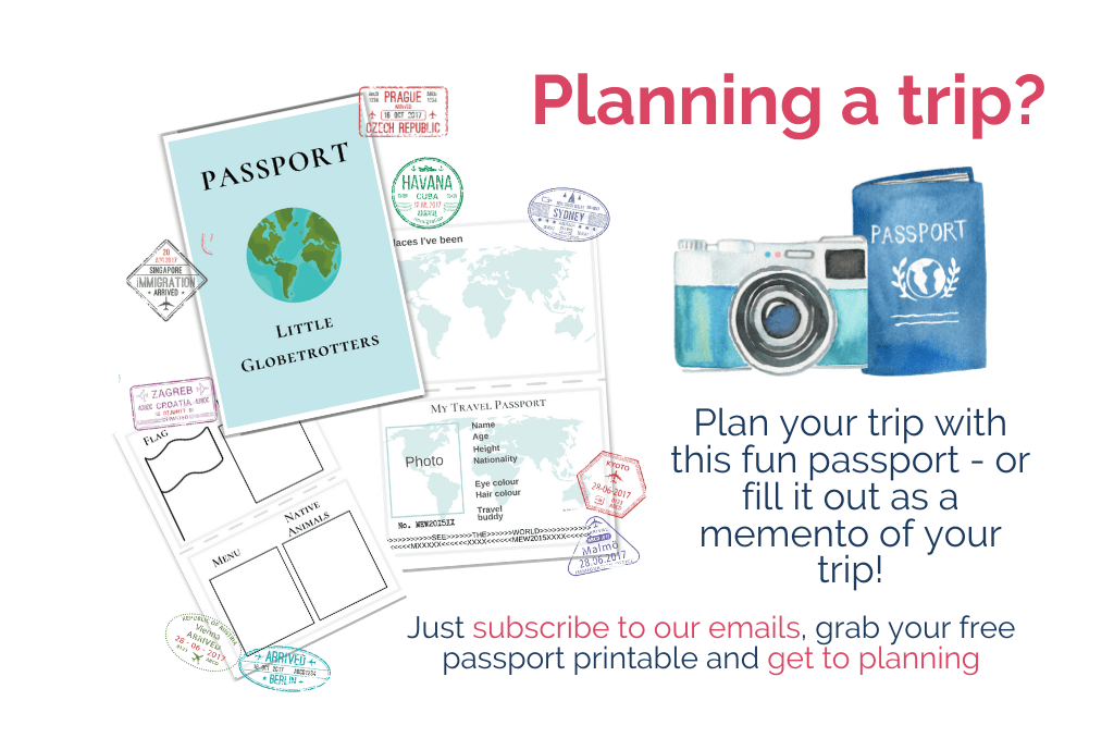 Free printable passport advert
