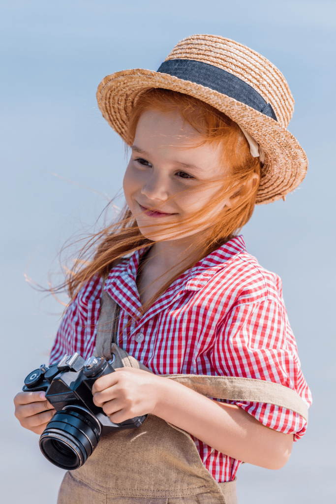 Child practicing their photography: how to prepare your child for their next trip while on lockdown