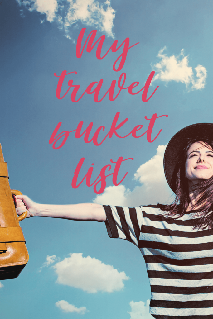 Travel bucket list title