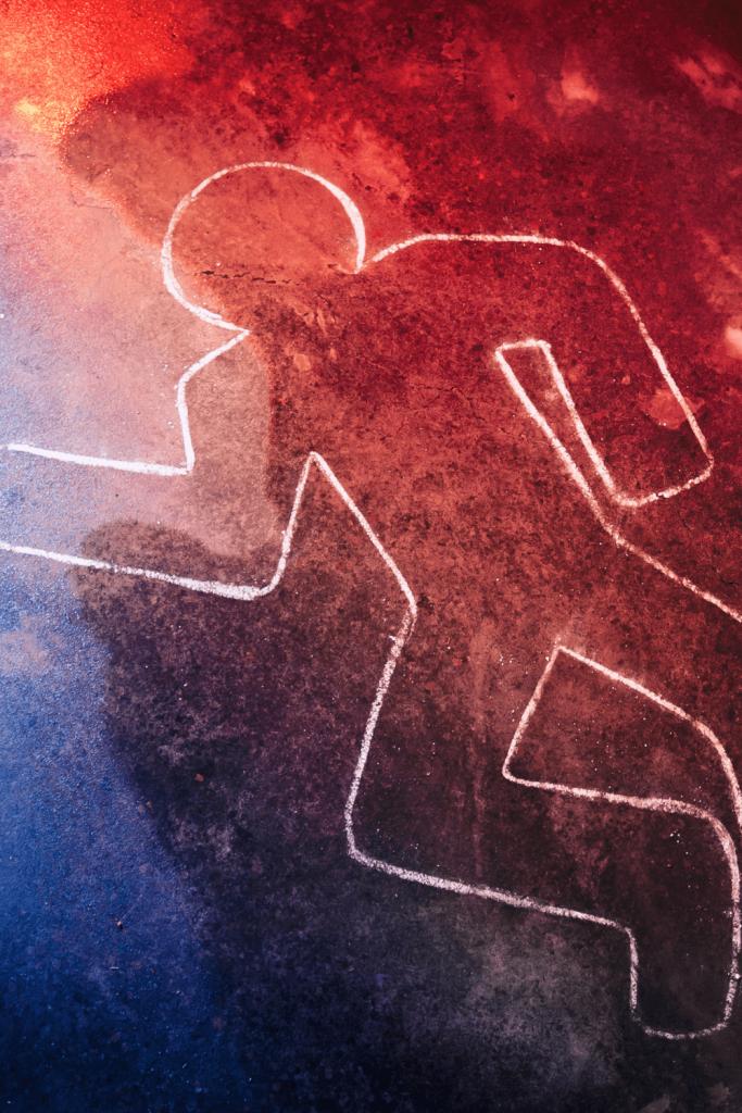 Dangerous Australians: murder crime scene