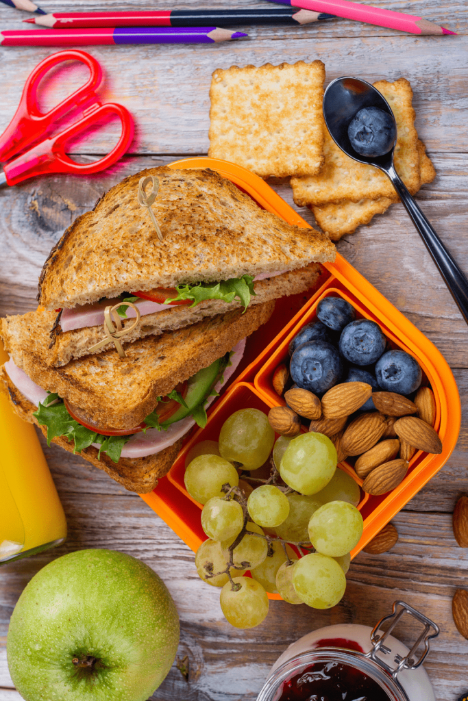 Healthy snacks and double-ended pencils: both are great for road trips with kids