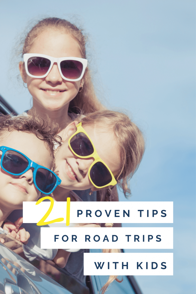 21 proven tips for a great road trip with kids