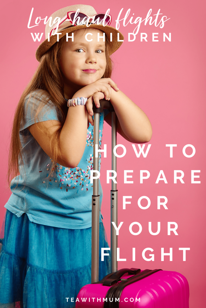 What to do before your flight with a small child