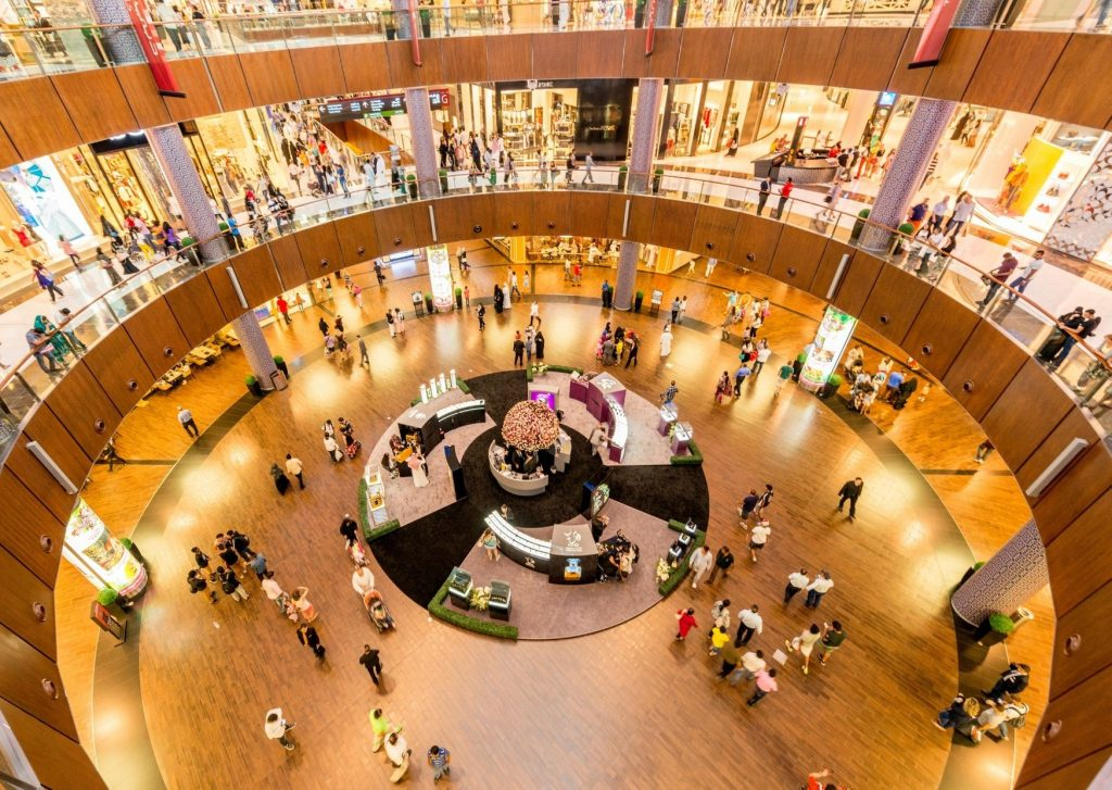 What to do in Dubai with kids: shop till you drop at the Dubai Mall and the other malls and souks