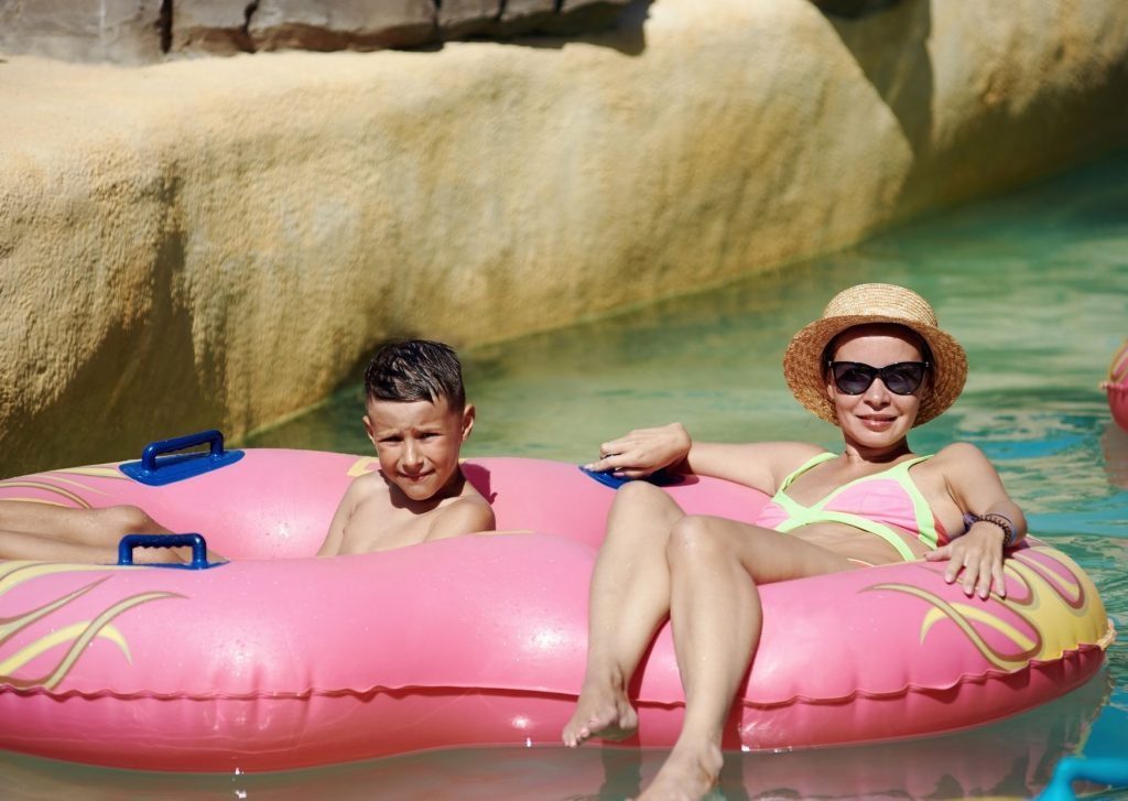 The ultimate guide of things to do in Dubai with kids: Lounging at the waterpark