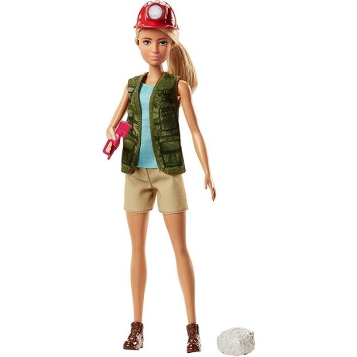Palaeontologist Barbie: one of the 50+ gifts for girls who love dinosaurs