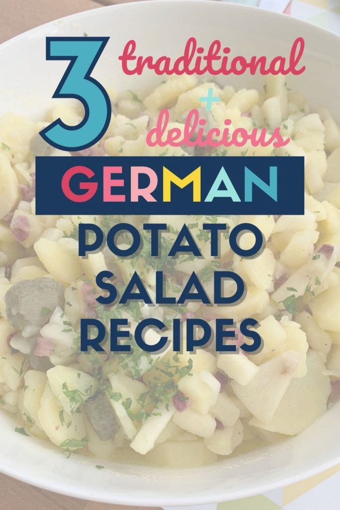 German-style potato salad - 3 traditional and delicious recipes - pin