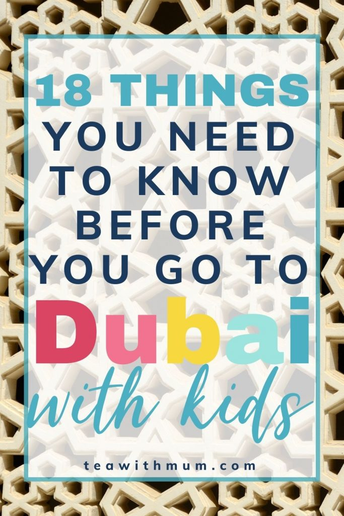 18 things you need to know before visiting with kids - pin with window decoration image