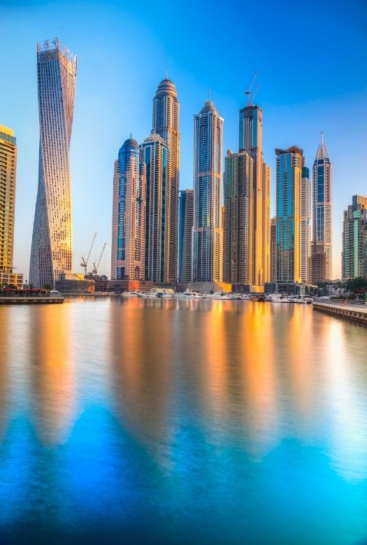 What you need to know before visiting Dubai: Skyscrapers at Dubai Marina