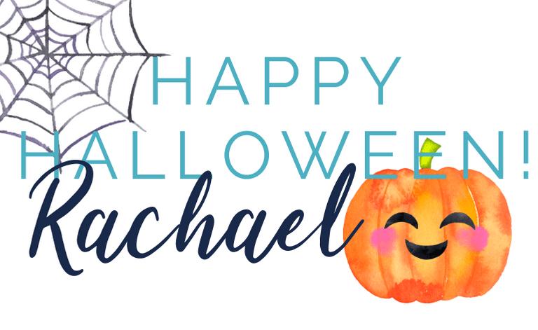 Happy Halloween sign-off