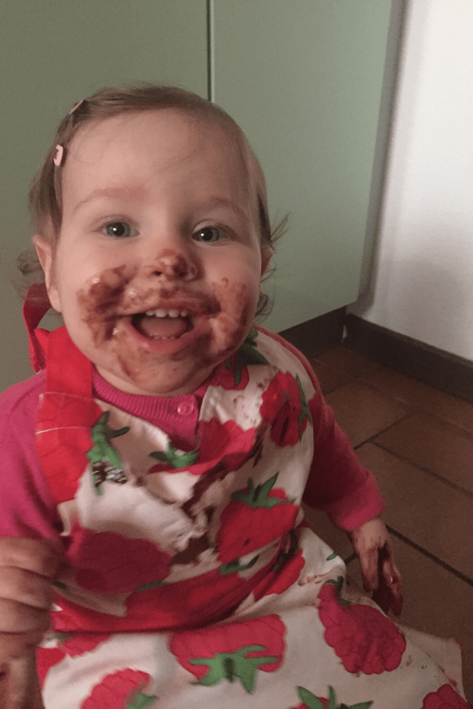 Top tips for baking with kids - Tip #12 Licking the bowl is mandatory