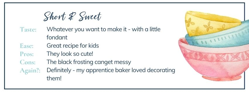 Short and sweet: Halloween mummy cupcakes