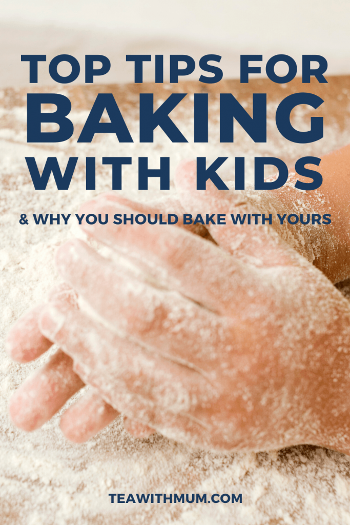 12 top tips for baking with kids - with child kneading dough