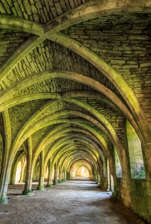 The ultimate 2020 gift guide: gifts for travel lovers when they can't travel. Why not get them a National Trust Membership so that they can see some beautiful historical sites, like Fountains Abbey (pictured)