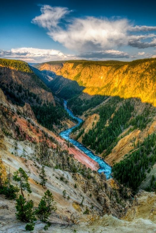 The ultimate 2020 gift guide for travel lovers when they can't travel - buy them a national marks pass so that they can see local national parks like Yellowstone National Park (pictured)
