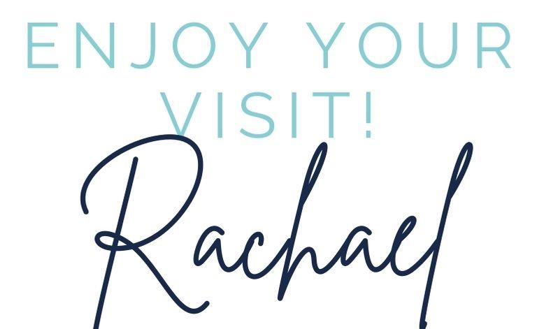 Enjoy your visit sign-off