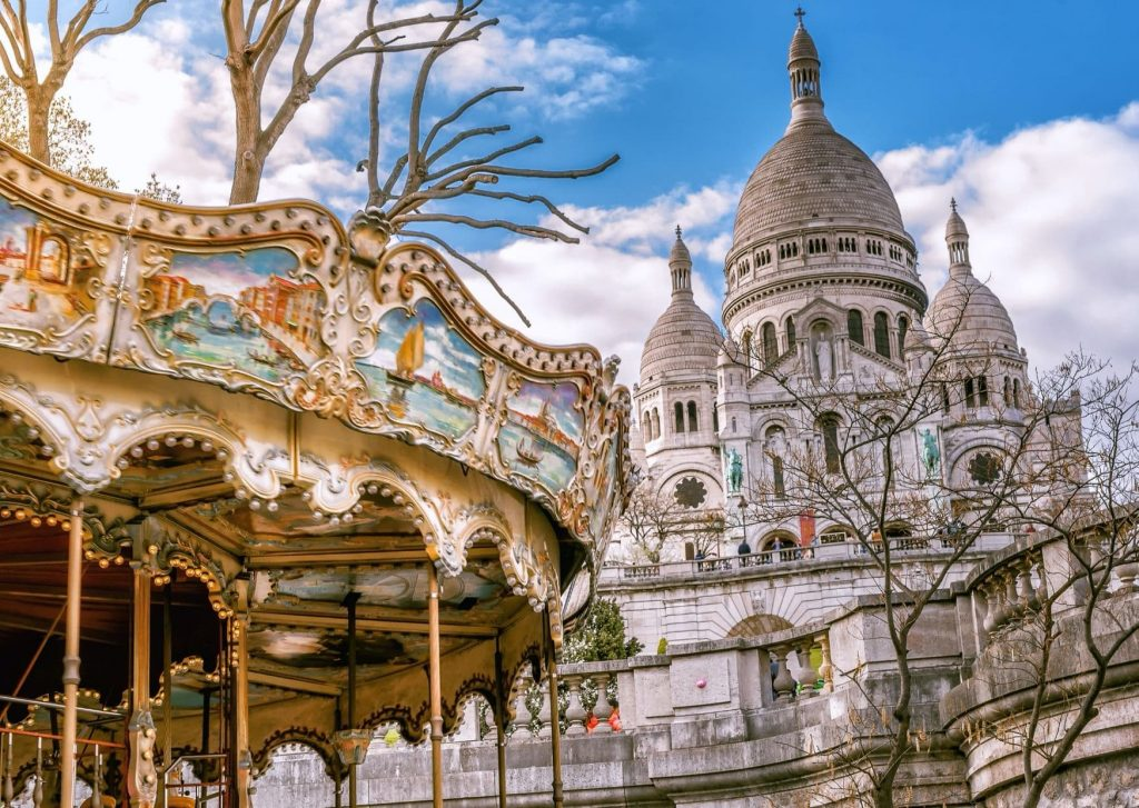 Perhaps we'll take a turn on the merry-go-round at Montmatre to really live up our first travel in a post-COVID world