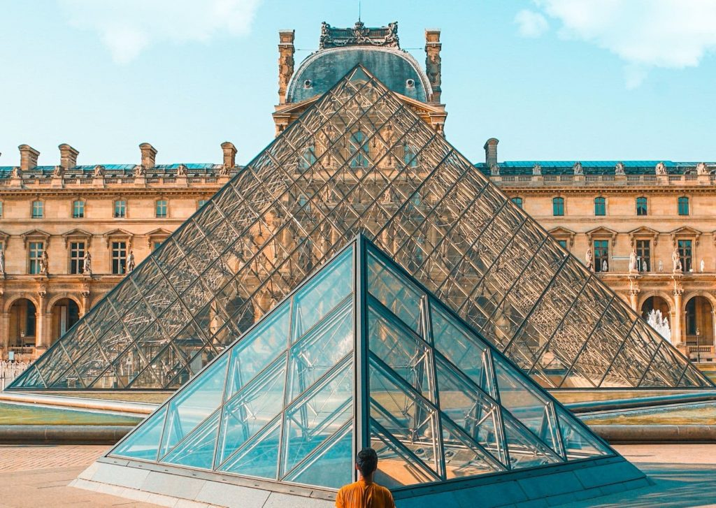 We plan to take a stroll or a boat past the Louvre and its famous pyramids, too. Part of our plans for travel in a post-COVID world