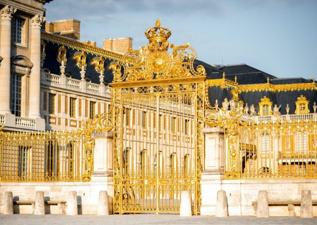 We will be spending a day at Versailles and will hopefully see much more than these gates