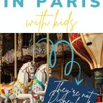 5 fun things to do in Paris with kids: they're not Disneyland! Try a ride on a merry-go-round...