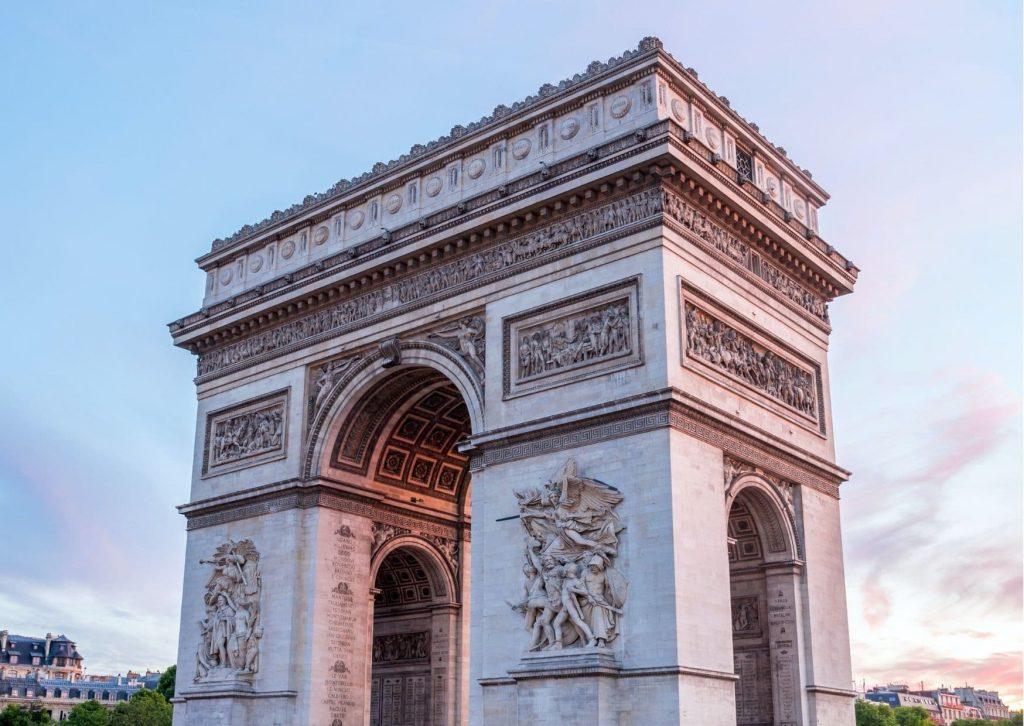 A tour of Ladybug's Paris should include a visit to the Arc de Triomphe (pictured)