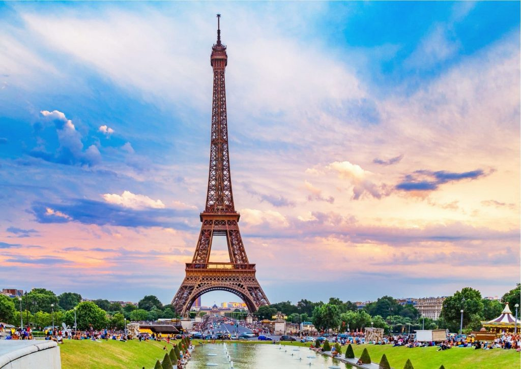 Ladybug's Paris: Any tour must include the Eiffel Tower (here from the Champs de Mars)