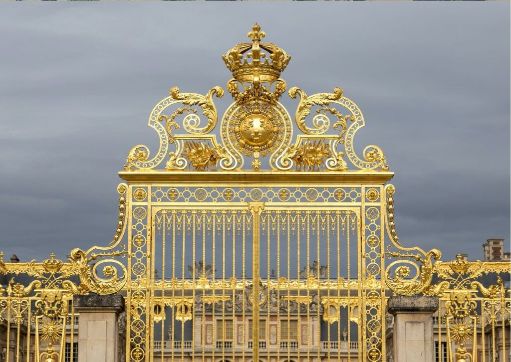 Versailles with kids: Any visit will probably start at the gold front gates