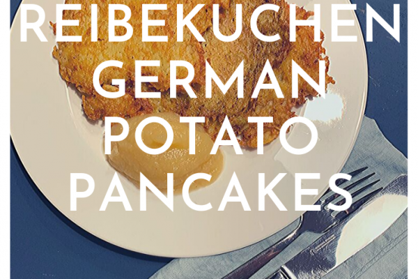 A recipe from Cologne: Reibekuchen: German potato pancakes