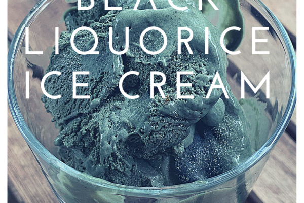 Black liquorice ice cream title